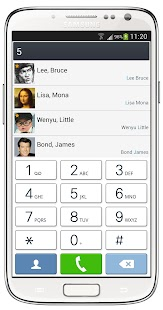 ExDialer SGS4 Light Theme