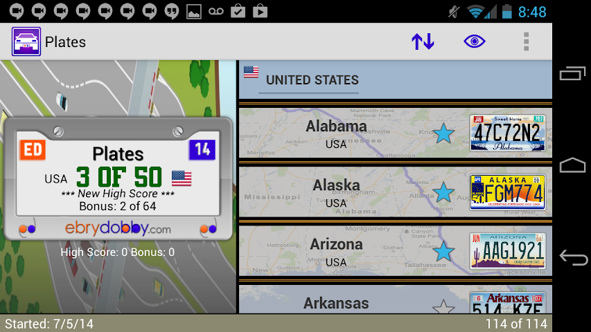 android Plates Family Travel Game Screenshot 7