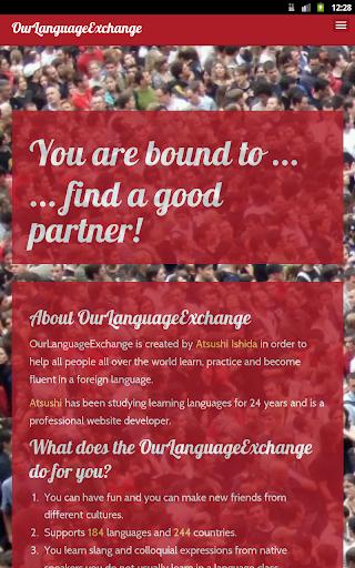 OurLanguageExchange