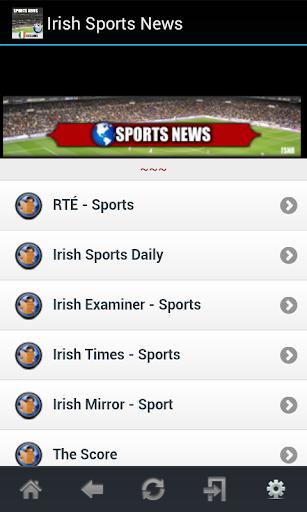 Irish Sports News