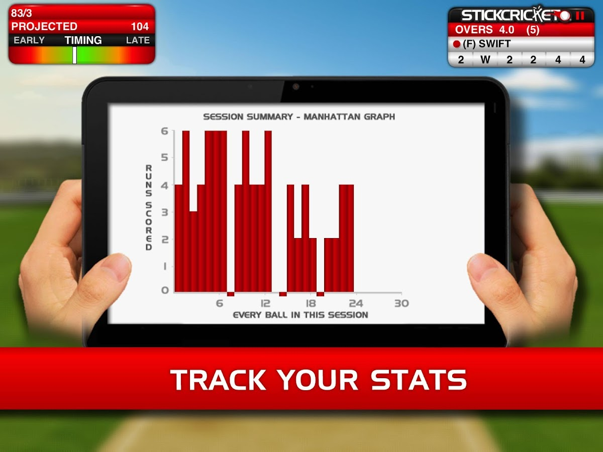 Stick Cricket - screenshot