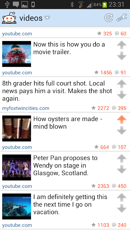 Reddinator: Widget for Reddit - screenshot