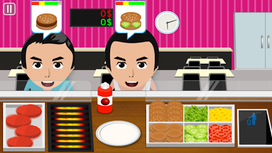 Burger Cooking Game- screenshot thumbnail