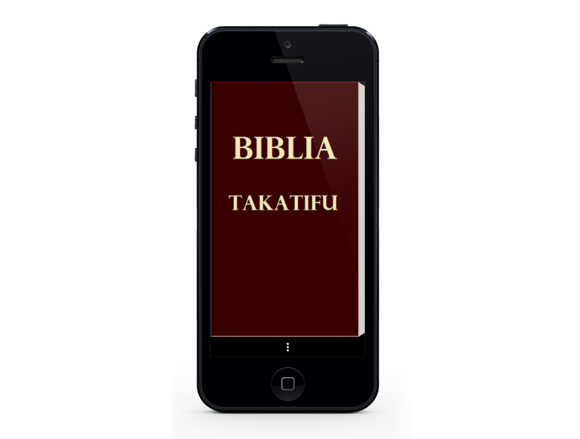 Swahili Bible, Biblia Takatifu - screenshot