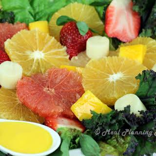 Florida Citrus Salad with Mango-Tangerine Dressing.