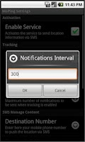 Screenshot of Mobile Ping