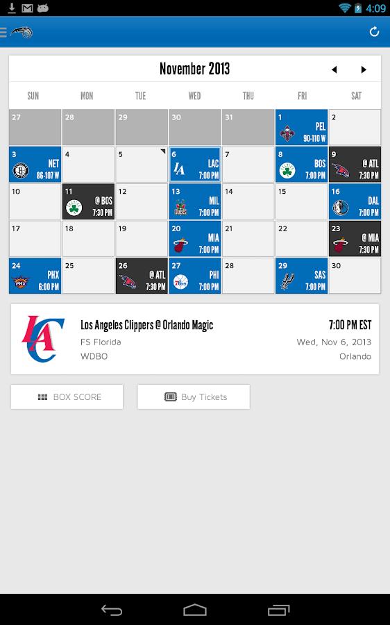 Orlando Magic - screenshot