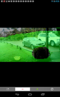 Screenshot of Security Camera Alarm System