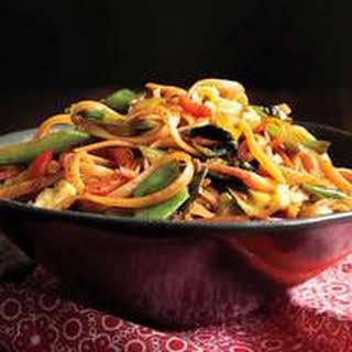 Vegetable-Noodle Stir-Fry.