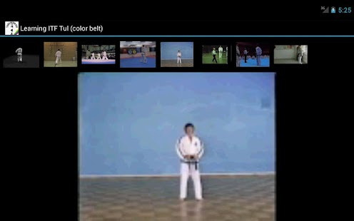 Taekwon-do ITF Tul Learning - screenshot thumbnail