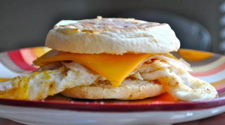 Egg and Cheese on an English Muffin Recipe