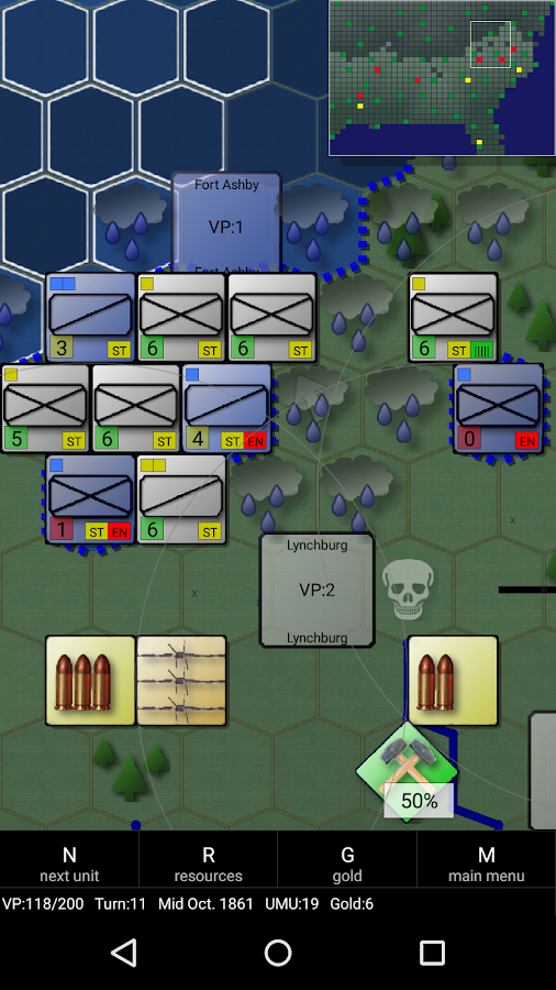 American Civil War (Conflicts)- screenshot