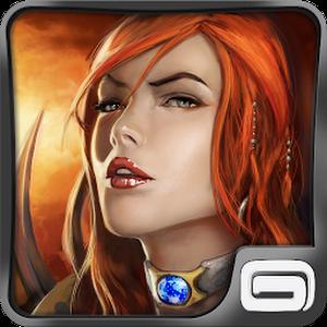 تحديث لعبة Gameloft العملاقة اخر اصدار : Dungeon Hunter 4 مهكرة جاهزة
