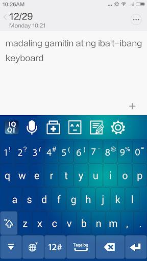 IQQI Tagalog Keyboard