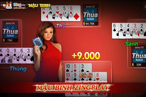 Poker VN - Mu1eadu Binh u2013 Binh Xu1eadp Xu00e1m - ZingPlay 3.9 screenshots 6
