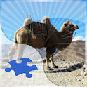 Camels Jigsaw Puzzle logo