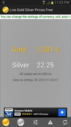 Live Gold Silver Prices Free