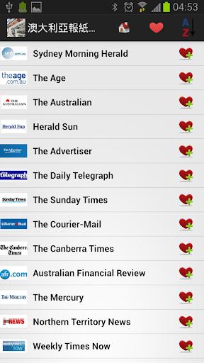 澳大利亞報紙和新聞