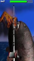 Screenshot of Big Dino Fishing 3D