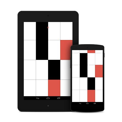 玩免費街機APP|下載黑色和白色的鋼琴 Black and White Piano app不用錢|硬是要APP