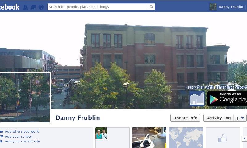 Facebook Timeline Shooter - screenshot
