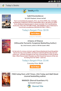 BookGorilla: Kindle Book Alert- screenshot thumbnail