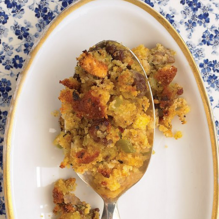 Cornbread and Sausage Stuffing Recipe