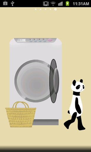 Panda washing Live Wallpaper 1.8 Windows u7528 3