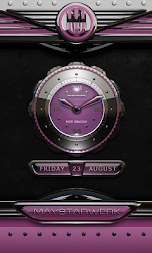 dragon digital clock rose APK screenshot thumbnail 4