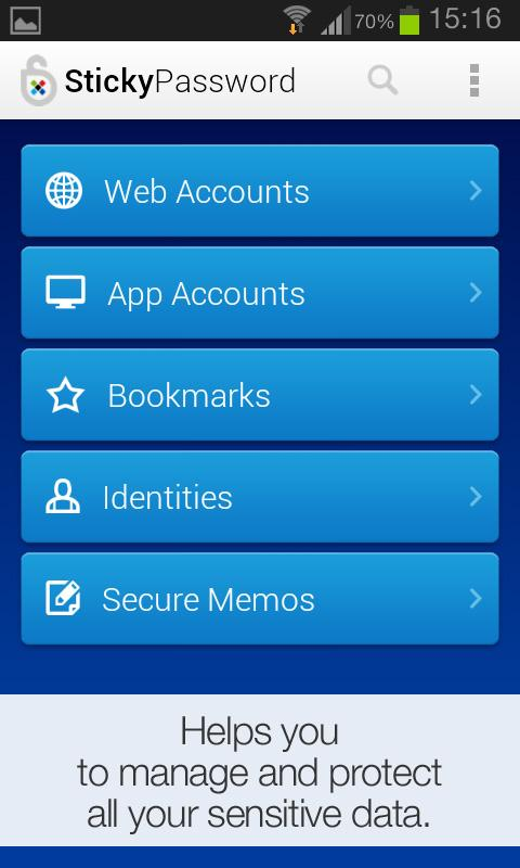 Sticky Password Manager & Safe- screenshot