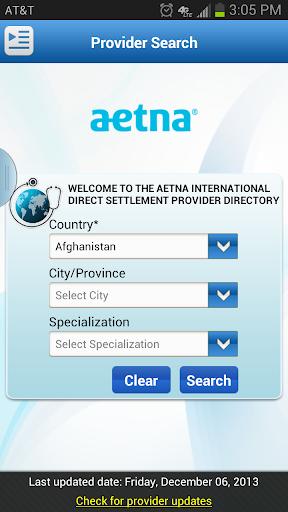 Aetna Intl Provider Directory