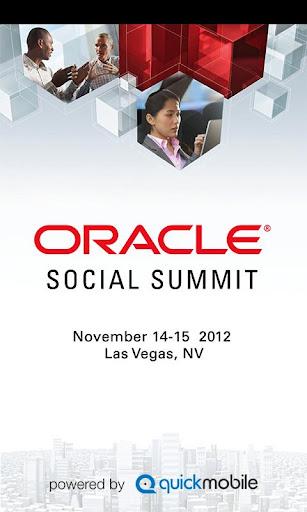 Oracle Social Summit App