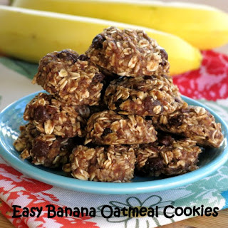 Banana Oatmeal Breakfast Cookie.