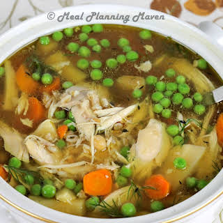 Crockpot Rustic Chicken Soup.