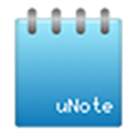uNote notepad logo