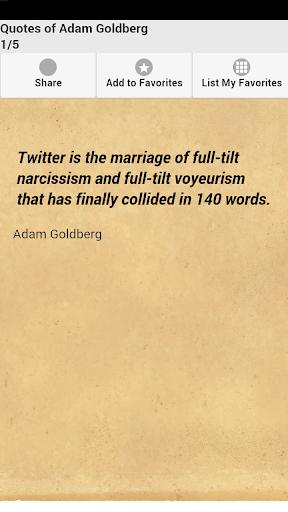 Quotes of Adam Goldberg