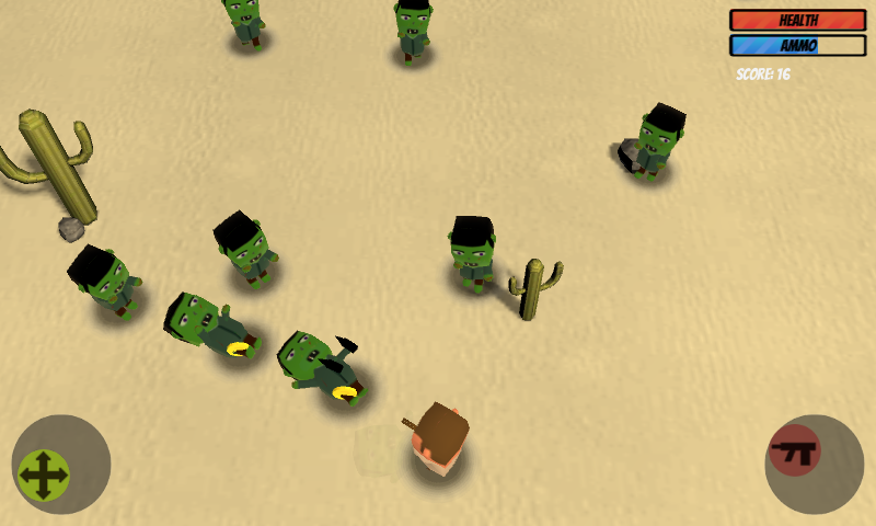 Desert Zombies - screenshot