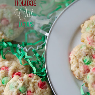 Holiday Oat Drops