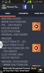 House Radio - screenshot thumbnail