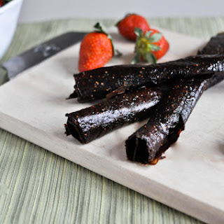 Homemade Fruit Leather.