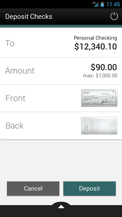 Buckeye Community FCU Mobile - screenshot