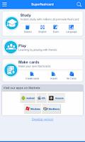 Screenshot of GED Flashcards