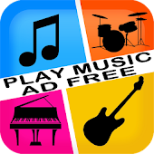 PlayMusic Piano Guitar Ad Free