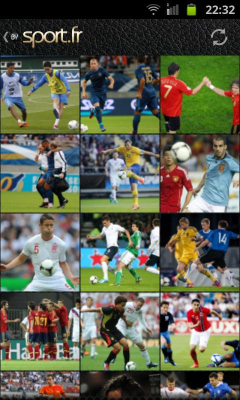Euro 2012 foot - screenshot
