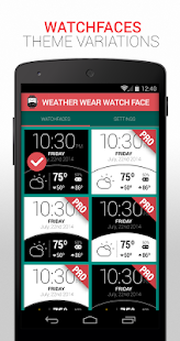 Weather Watch Face- screenshot thumbnail