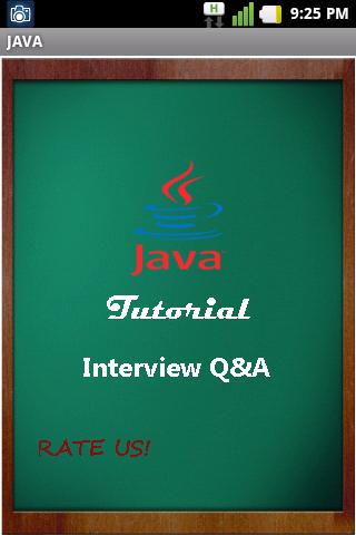 JAVA Interview Q A Tutorial