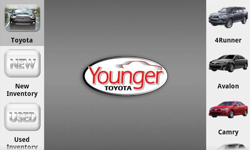 Younger Toyota Dealer App