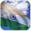 3D India Flag Live Wallpaper logo