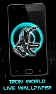 Tron World Live Wallpaper - screenshot thumbnail