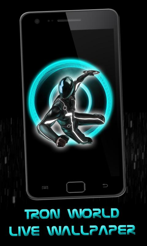 Tron World Live Wallpaper - screenshot